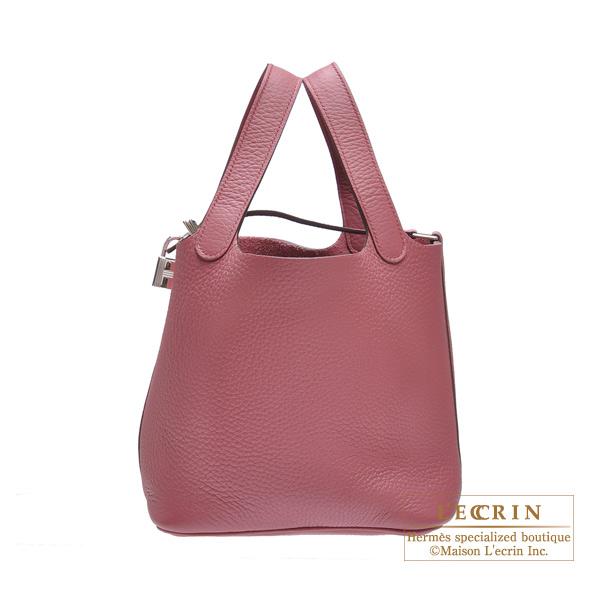 Lecrin Boutique Tokyo  Hermes Picotin Lock bag PM Rose wood Clemence ... a62f929bb5e1b