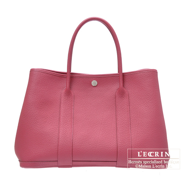 1d8878be859 Lecrin Boutique Tokyo  Hermes Garden Party bag PM Tosca Fjord leather  Silver hardware