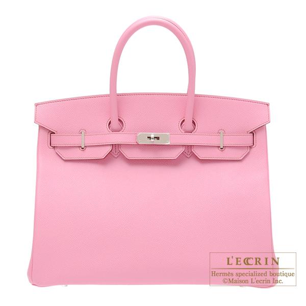 Lecrin Boutique Tokyo  Hermes Birkin bag 35 Pink Epsom leather ... 4ef37aace1d86