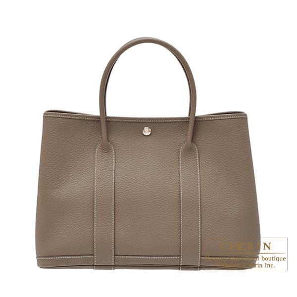 831bee815513 Lecrin Boutique Tokyo  Hermes Garden Party bag PM Quadrige Etoupe ...