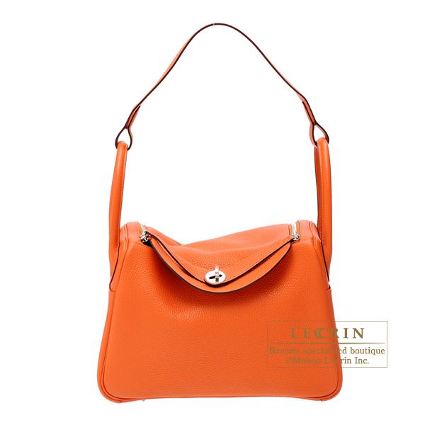 6922cf11a8 Lecrin Boutique Tokyo  Hermes Lindy bag 30 Feu Clemence leather ...