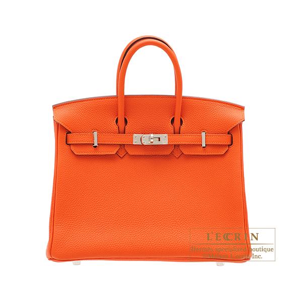 【お買い得!】 エルメス バーキン25 フー 25 Feu Togo トゴ シルバー金具 HERMES Birkin bag bag hardware 25 Feu Togo leather Silver hardware, OR GLORY:555d212a --- online-cv.site