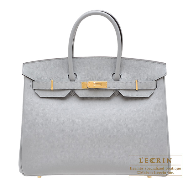 7e19bcf315 Lecrin Boutique Tokyo  Hermes Birkin bag 35 Blue glacier Epsom ...