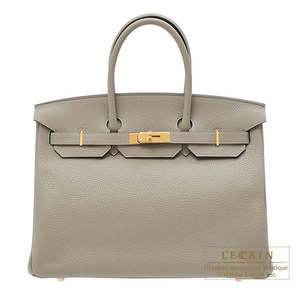 9015ac4558e Lecrin Boutique Tokyo: Hermes Birkin bag 35 Sauge Clemence leather ...