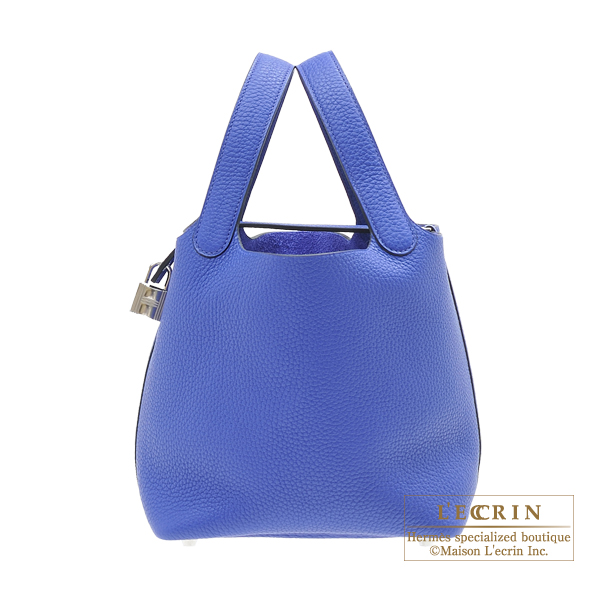 ... promo code for hermes picotin lock bag pm blue electric clemence  leather silver hardware 77ca0 a4717 f9181f48398f1
