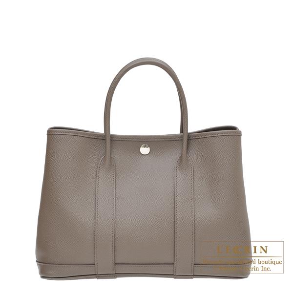Lecrin Boutique Tokyo  Hermes Garden Party bag TPM Etain Epsom ... 3a1f9be53a057