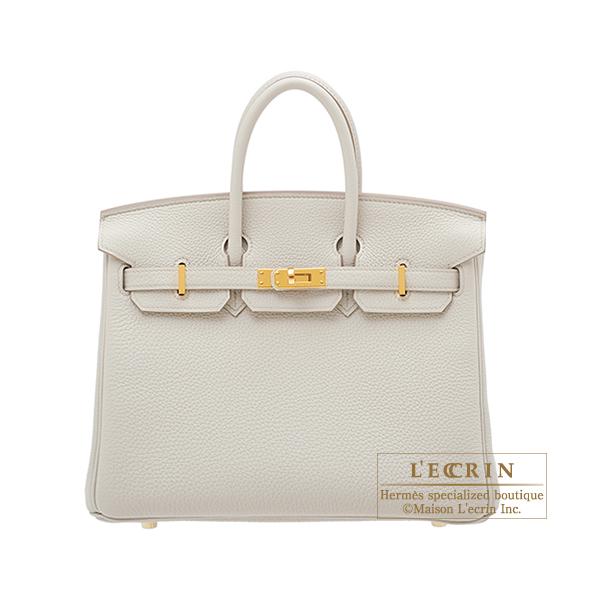 エルメス バーキン25 ベトン トゴ ゴールド金具 HERMES Birkin bag 25 Beton Togo leather Gold hardware