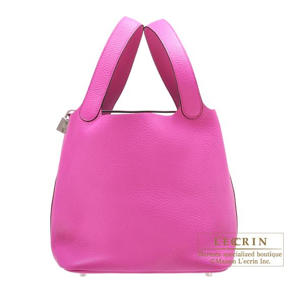 エルメス ピコタンロックMM マグノリア トリヨンクレマンス シルバー金具 HERMES Picotin Lock bag MM Magnolia Clemence leather Silver hardware