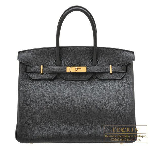 エルメス バーキン35 ブラック トゴ ゴールド金具 HERMES Birkin bag 35 Black Togo leather Gold hardware