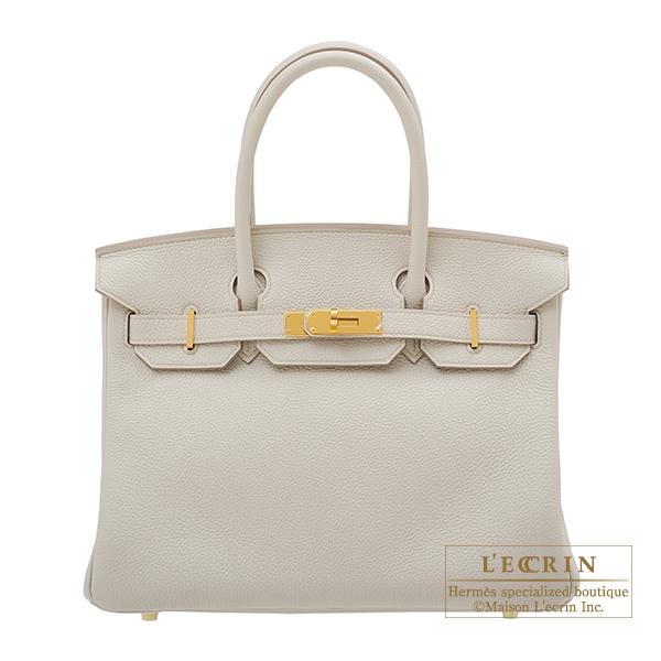 エルメス バーキン30 ベトン トゴ ゴールド金具 HERMES Birkin bag 30 Beton Togo leather Gold hardware