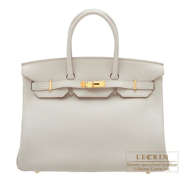 エルメス バーキン35 ベトン トゴ ゴールド金具 HERMES Birkin bag 35 Beton Togo leather Gold hardware