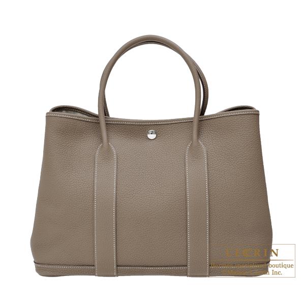 Lecrin Boutique Tokyo Hermes Garden Party Bag Pm Etoupe Grey