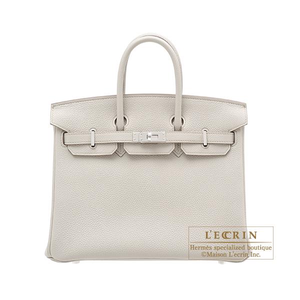 エルメス バーキン25 ベトン トゴ シルバー金具 HERMES Birkin bag 25 Beton Togo leather Silver hardware