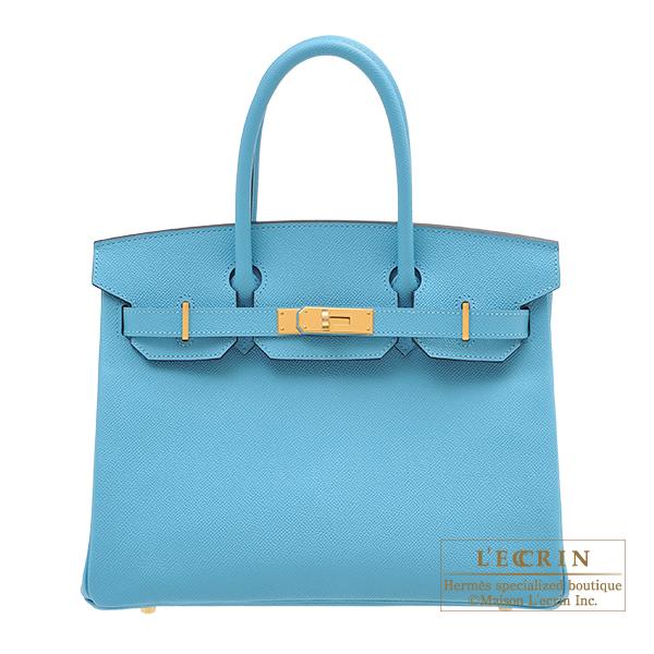 エルメス バーキン30 ブルーノール ヴォーエプソン ゴールド金具 HERMES Birkin bag 30 Blue du nord Epsom leather Gold hardware