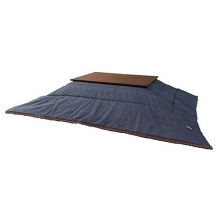 薄掛けコタツ布団 (長方形) 190×230cm ヒッコリ- KK-152 AZ441