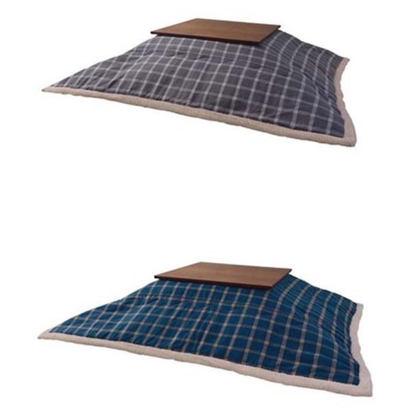 薄掛けコタツ布団 (長方形) 190×230cm ウィンドウ・ペンチェック KK-156 AZ451