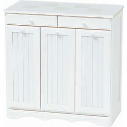 ゴミ箱に見えない見た目が人気 ダストボックス(ホワイトウォッシュ) AT015