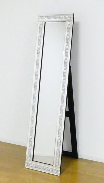 【期間限定 ポイント5倍】 スタンディングミラー 2ライン KU709