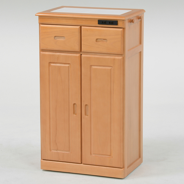 【期間限定 ポイント5倍】 キッチンカウンター(ナチュラル) MUD-6132SNA AT314