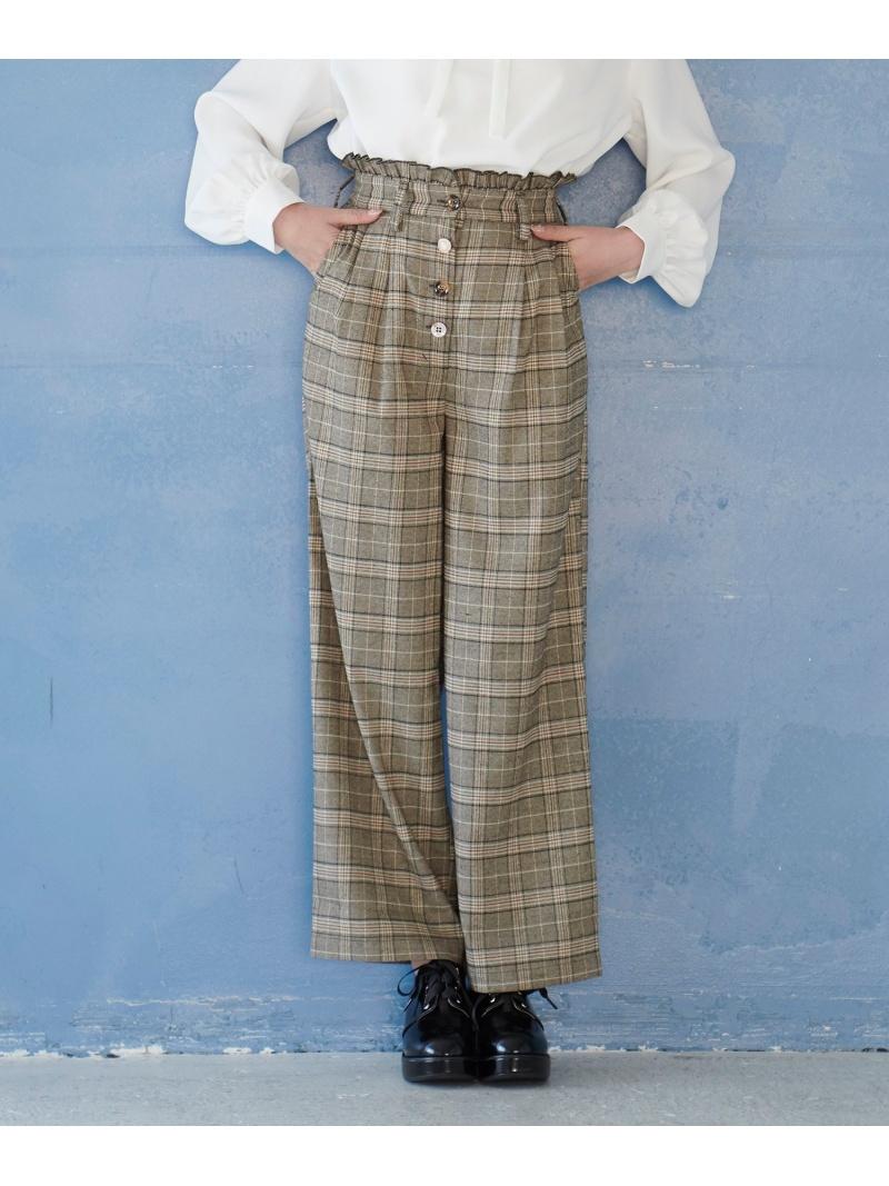 [Rakuten Fashion]アソートボタンパンツ MAJESTIC LEGON マジェスティックレゴン パンツ/ジーンズ パンツその他 ブラック ピンク ブラウン【送料無料】