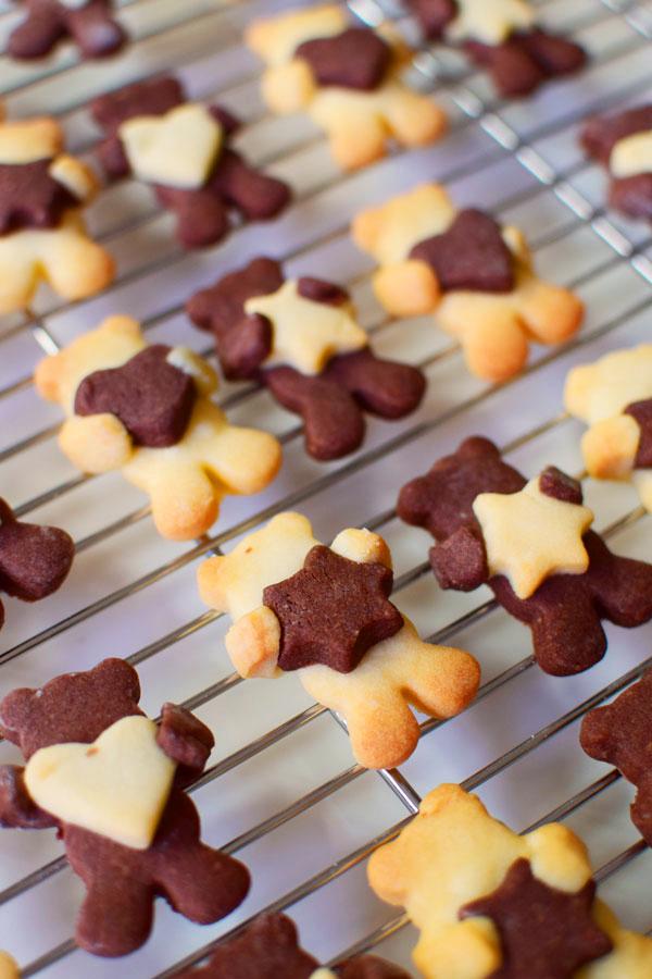 泰迪熊饼干切