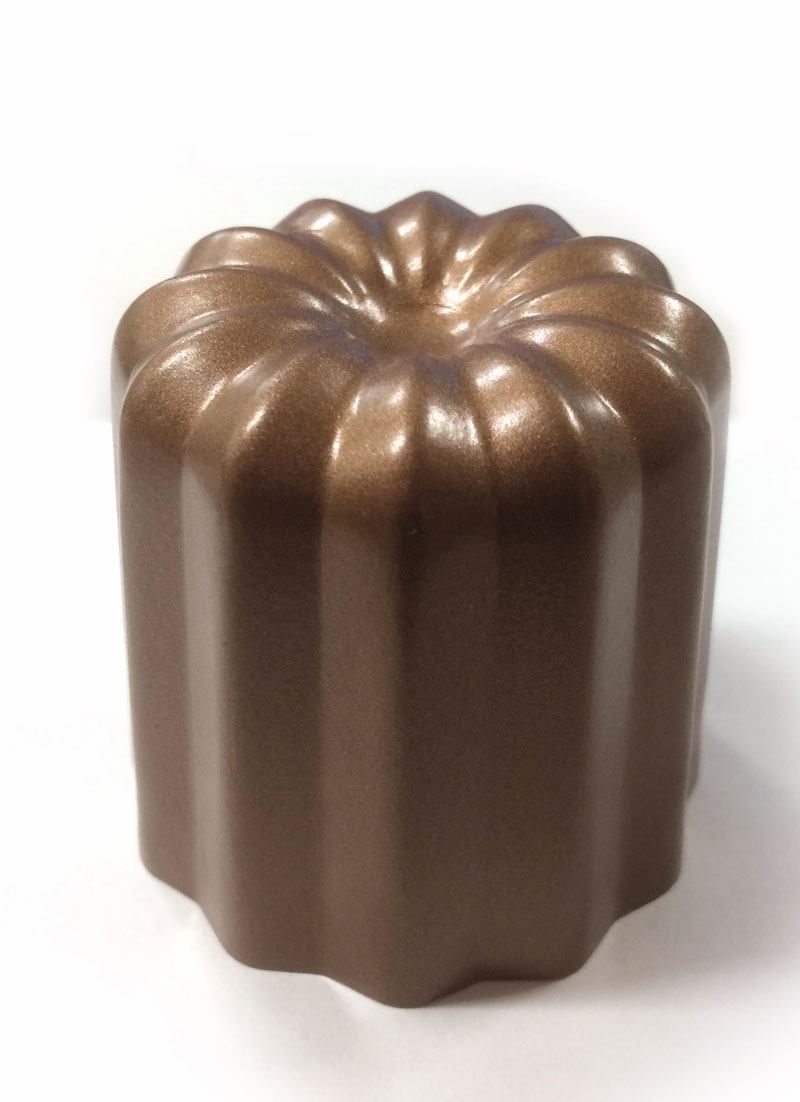 Gold Silicon processing canele type