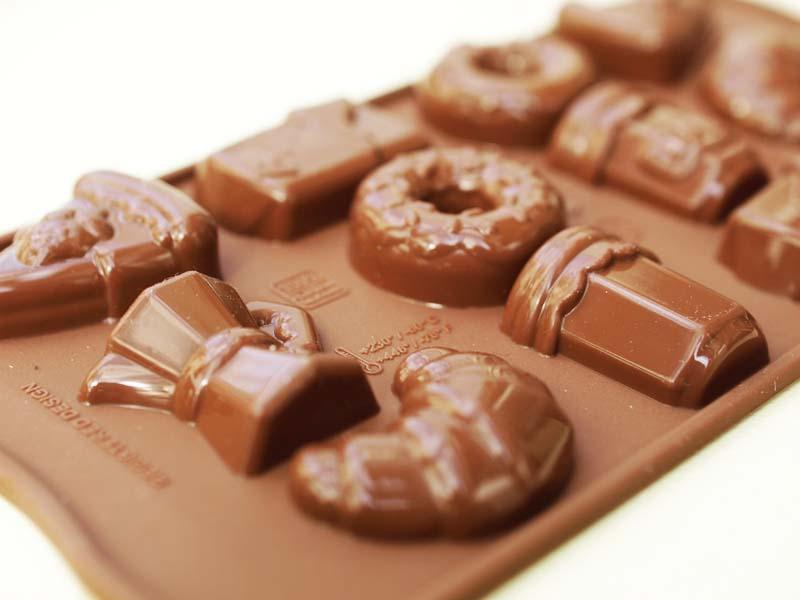 巧克力的模具,模具,早上好