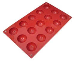 矽膠 Flex SF005 半球形半球 40 毫米