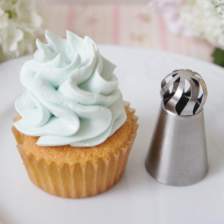 天使のカップケーキと餡クリームのお試し画像あり 立体口金 3D ホイップ 3d口金 口金 No471 誕生日プレゼント 海外輸入 立体