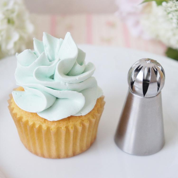 オンラインショップ 天使のカップケーキと餡クリームのお試し画像あり 直営限定アウトレット 立体口金 No478 3Dホイップ口金