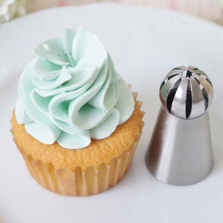 天使のカップケーキと餡クリームのお試し画像あり 立体口金 No482 在庫処分 3Dホイップ口金 激安挑戦中
