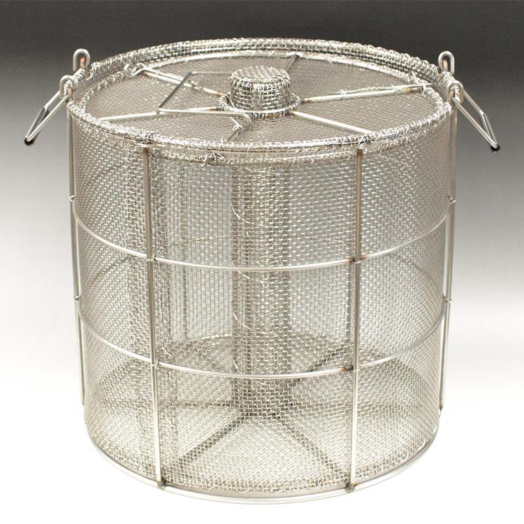 【お取り寄せ】納豆カゴ 33センチ寸胴鍋用(約3升用)※仕入れ先在庫なくなり次第終了です。ご注文前に在庫をお問い合わせ下さい。※沖縄・離島は送料有料です。