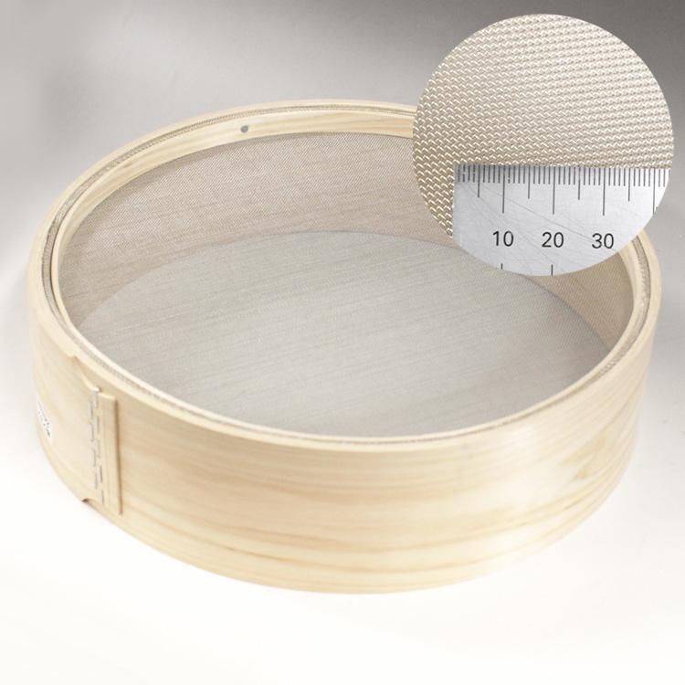 ■お取り寄せ品 豊富な品 木枠 保障 粉ふるい 24メッシュ 外枠 12寸 粉 網 36cm ステンレス ふるい