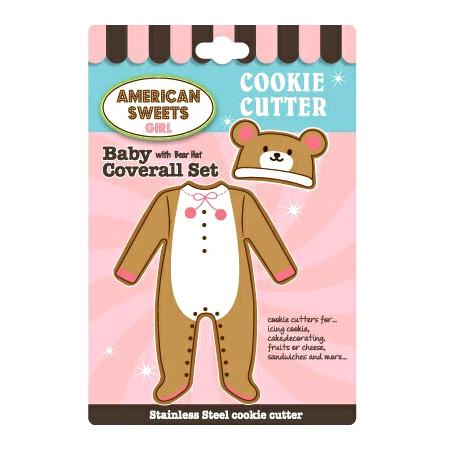 アメリカンスイーツ クッキー型セット ベビー カバーオール セット SWEETS 信託 N106657 赤ちゃん 驚きの値段で AMERICAN
