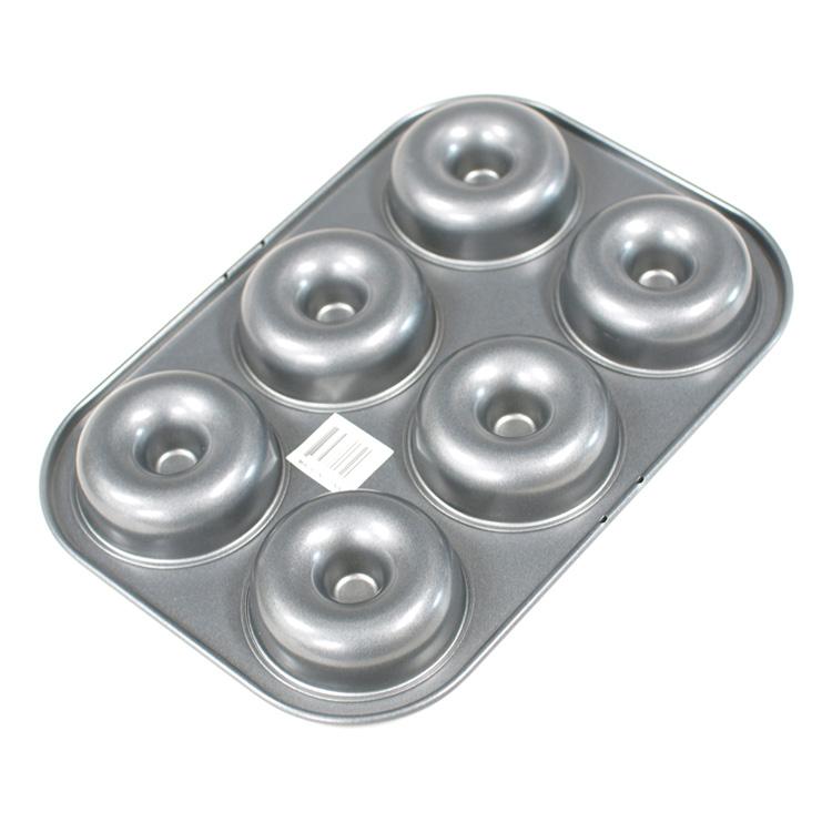 空焼不要 型離○ 引出物 型離よくお手頃なシリコン 表面 加工 シリコン お得 天板 6個付 不要 ドーナツ型 空焼き