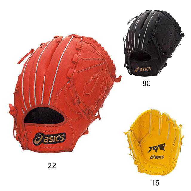 ASICS(アシックス)TRY UPシリーズ軟式野球用グラブ(投手用)・右投げ