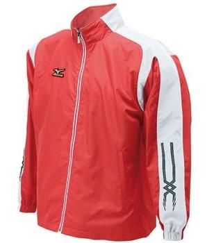 【Mizuno】ウィンドブレーカーシャツ52WB951カラー:レッド×ホワイトサイズ:M