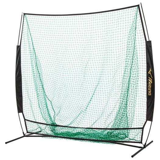 ミズノ 簡易式ティーバッティング用ネット (軟式/ソフトボール用)ティーネット 野球 練習 1GJNA55200