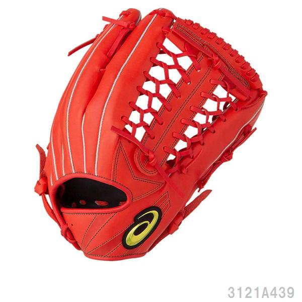 送料無料 asics アシックス 軟式野球グラブ外野手用 プロフェッショナルスタイル 丸佳浩選手モデル サイズ12グローブ 3121A439