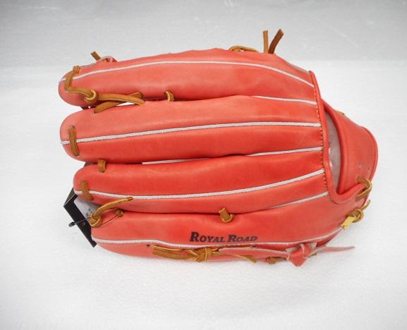 【訳あり商品】【色落ち】【送料無料】asics 野球GS.硬式用 ROYAL ROAD 外野手用グラブBGH8CU 右投げ用 グローブ カラー:2227