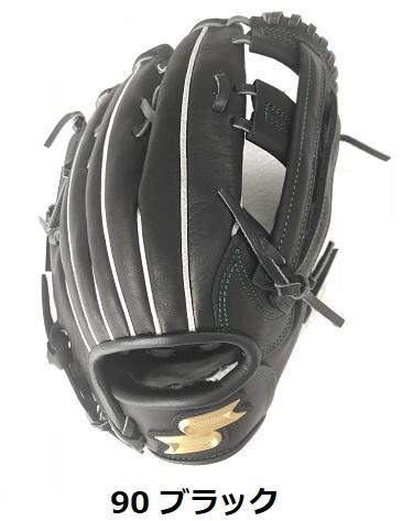 送料無料 SSK エスエスケイ少年軟式野球グラブ 外野手用 プロエッジ 90 ブラックPEJ198F