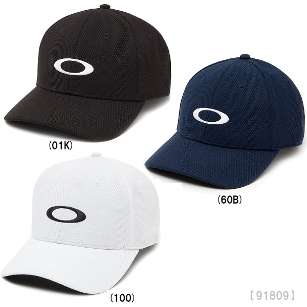 吸汗速乾のスエットバンド採用したロゴキャップ あす楽 OAKLEY 販売 オークリー ついに再販開始 GOLF ELLIPSE HAT ロゴ トレーニング スポーツキャップ ゴルフ 91809 帽子