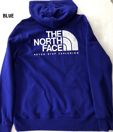 あす楽 あす楽送料無料 ザ・ノースフェイス THE NORTH FACEメンズ フードトレーナー スウェットパーカーNF0A4QQP5NX ブルーLのみ