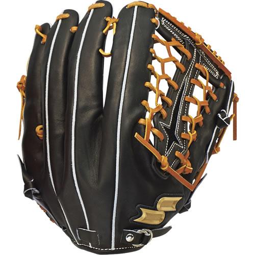 【送料無料】 SSK (エスエスケイ) 野球硬式グラブ プロエッジ 外野手用硬式野球 グローブ ブラック×タン(9047)PEK-57617