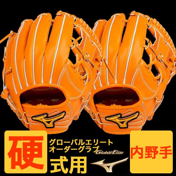 【オーダーグラブ・送料無料】ミズノプロ硬式用グローバルエリートオーダーグラブ1ajgh84600/内野手