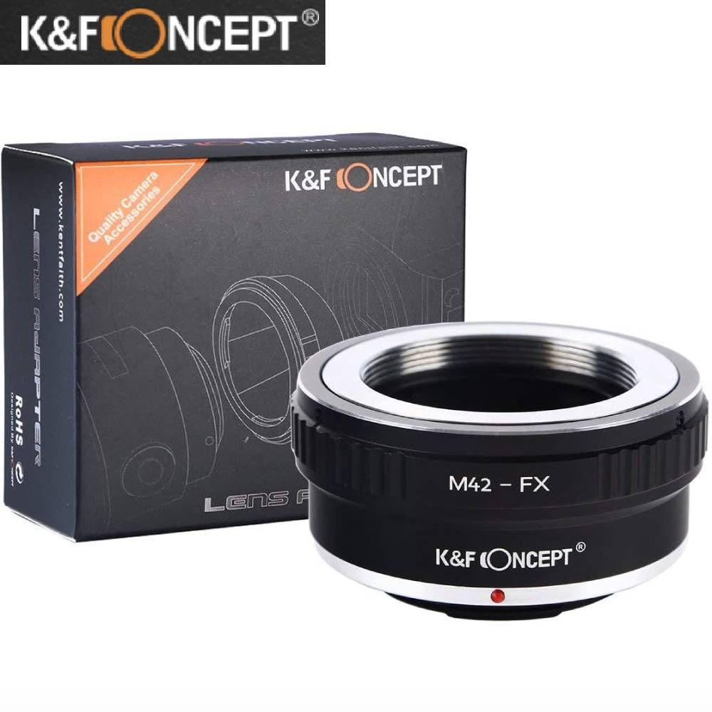2020秋冬新作 M42レンズをFUJIFILM Xシリーズ マウントカメラに装着可能です軽量 コンパクトなので 持ち運びが容易です KF Concept 限定特価 マウントアダプター M42レンズ FUJIFILM 変換アダプター レンズマウントアダプター マウントカメラ装着用レンズアダプターリング 富士フィルム - 送料無料 M42-Xマウント