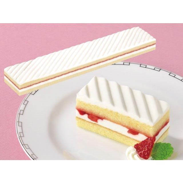 北海道生クリーム使用 卓越 フレック フリーカットケーキ いちごショートケーキ 375g 贈答品