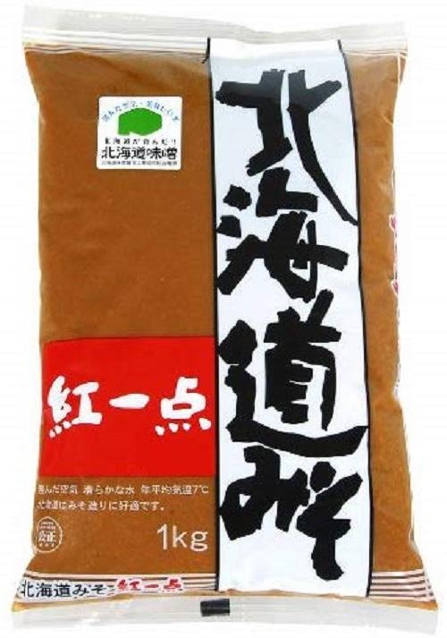 おみそ お味噌 みそ汁 返品不可 岩田醸造 1kg オンラインショッピング 紅一点 北海道みそ