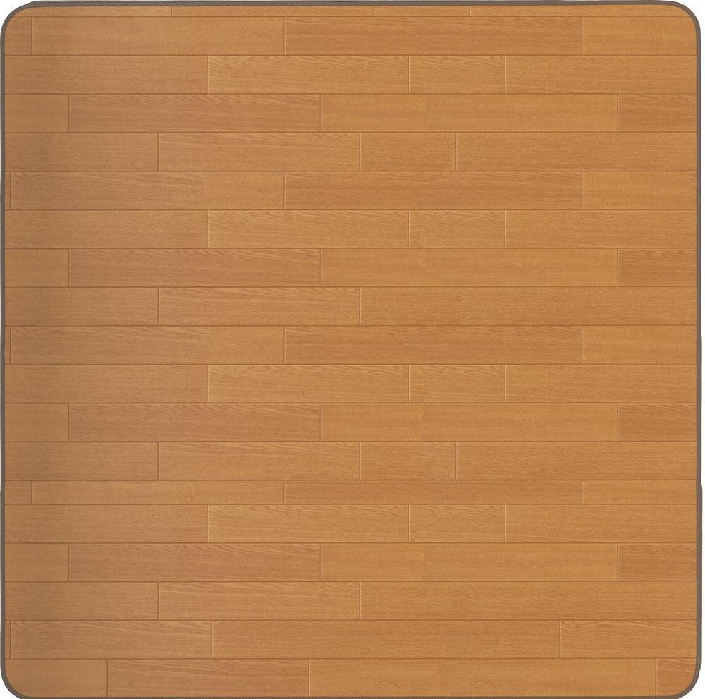 アキレス ビニール フロアマット 【150×200cm】 RG-91615 ナチュラル 新生活