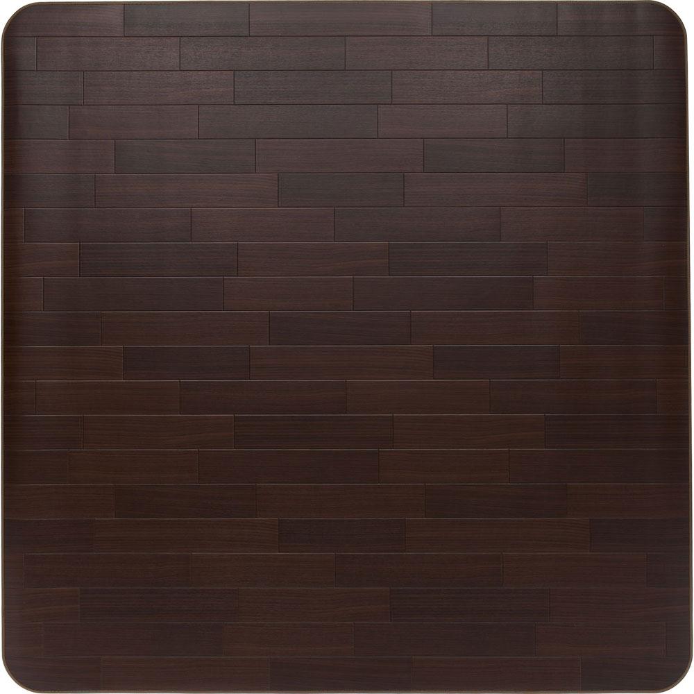 アキレス ビニール フロアマット 【200×300cm】 RG-99030 ダークブラウン